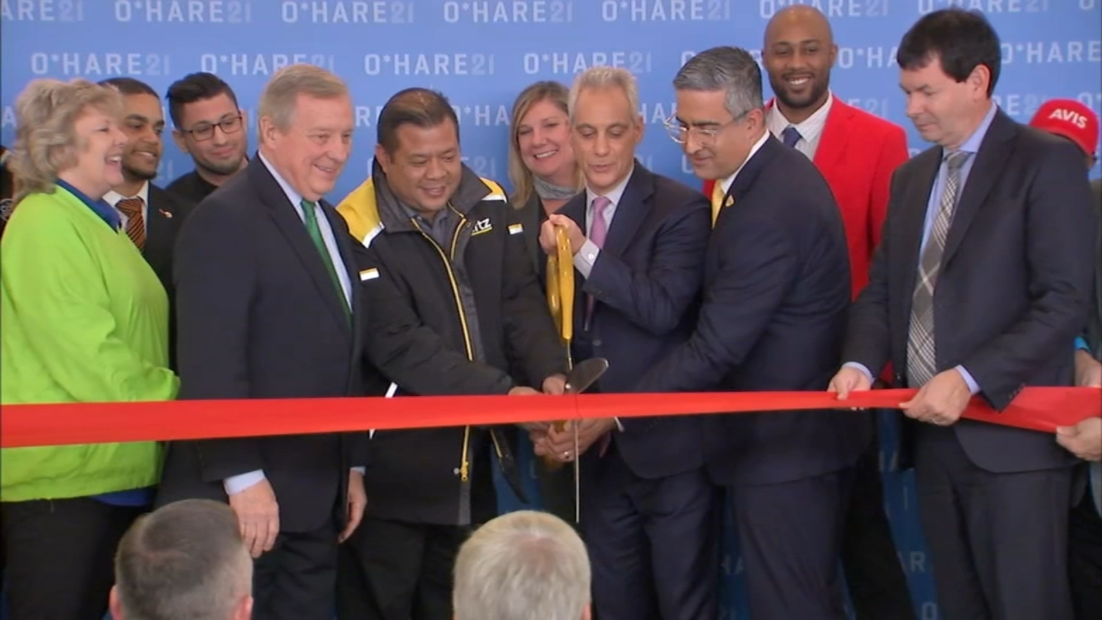 New O Hare Airport Parking Rental Car Facility Opens