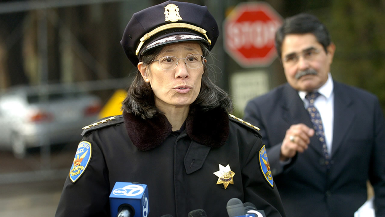 Police Chief Heather Fong