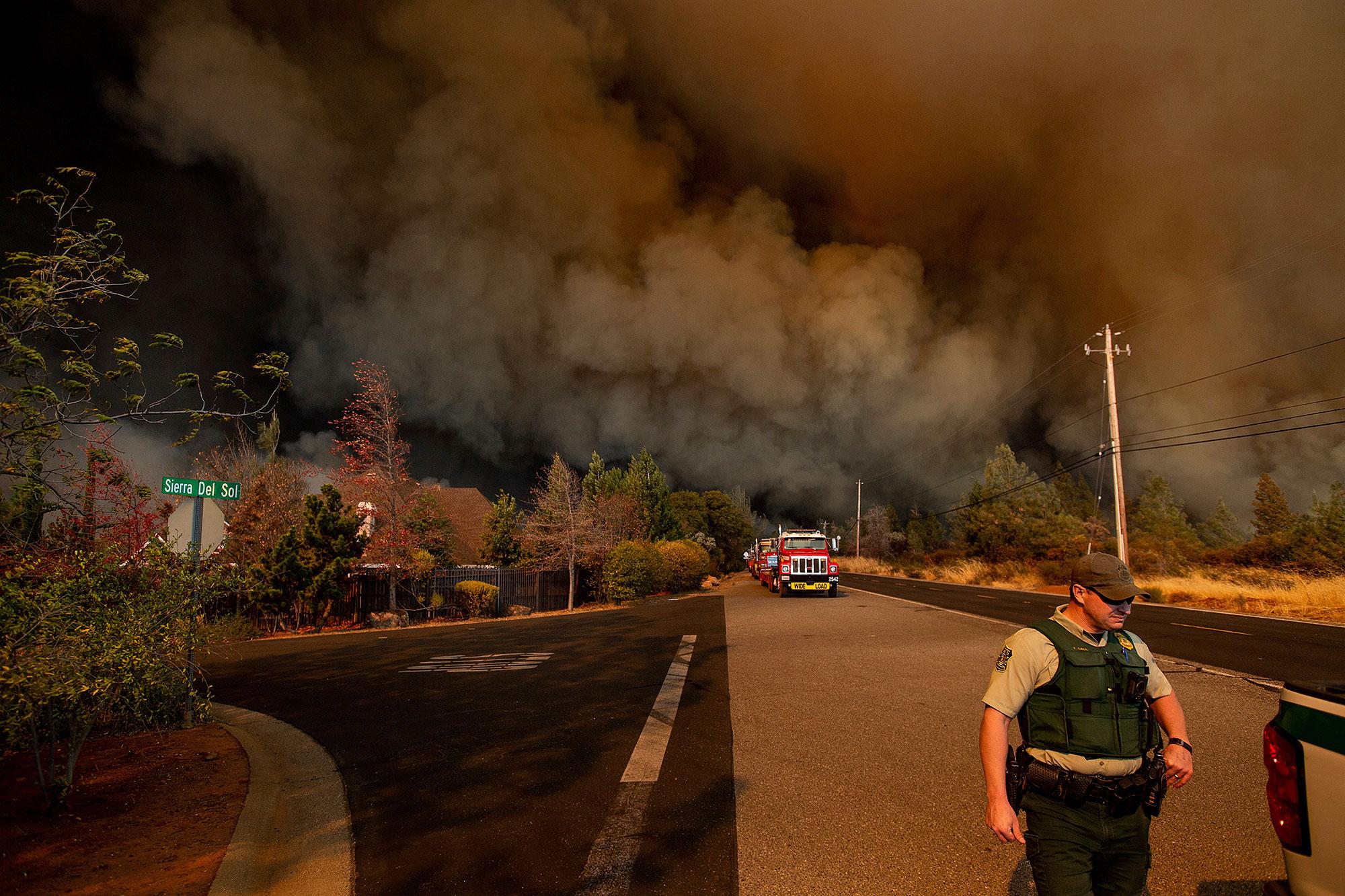 <div class='meta'><div class='origin-logo' data-origin='none'></div><span class='caption-text' data-credit='Noah Berger/AP Photo'>The Camp Fire rages through Paradise, Calif., on Thursday, Nov. 8, 2018.</span></div>