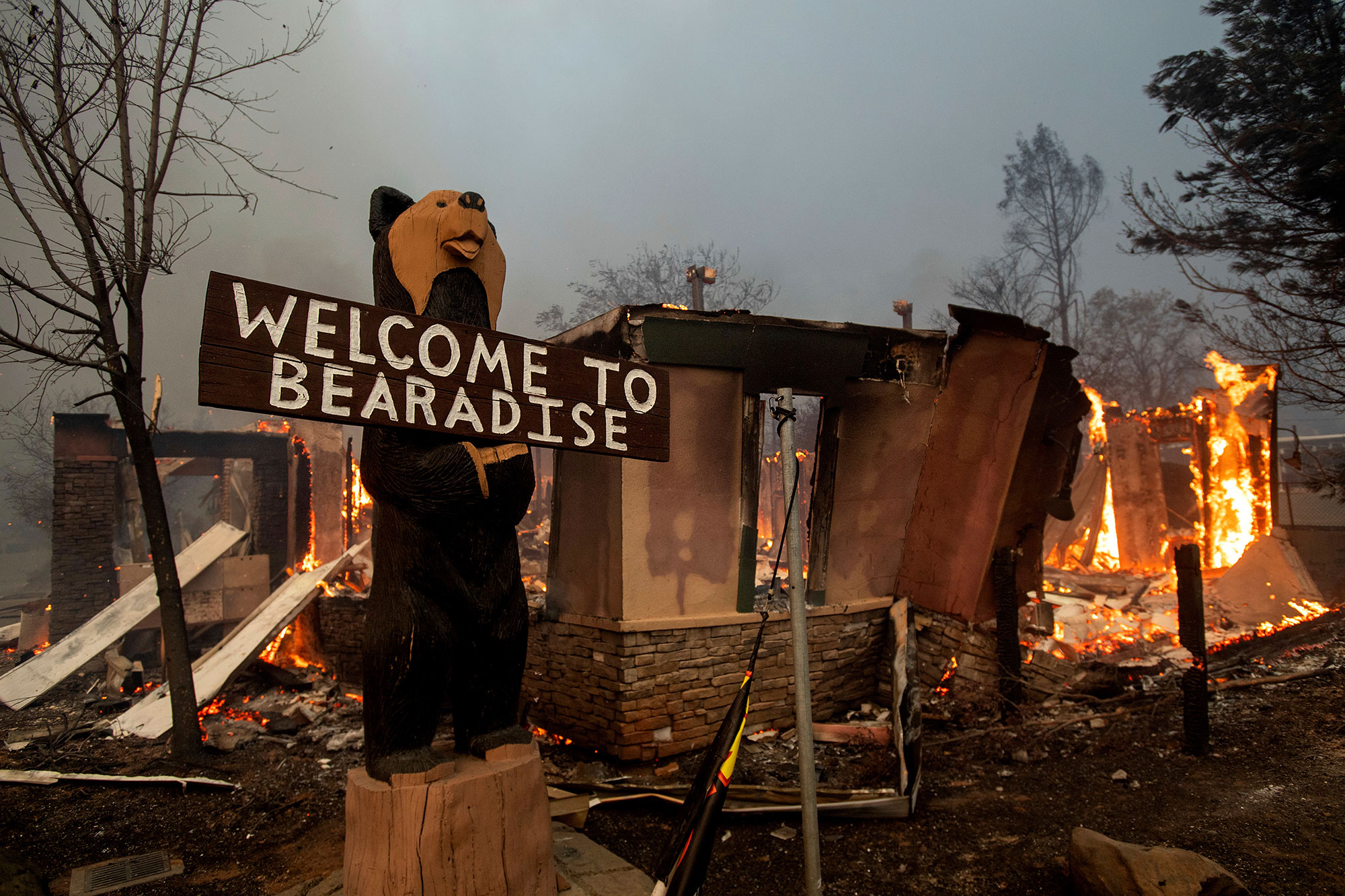 <div class='meta'><div class='origin-logo' data-origin='none'></div><span class='caption-text' data-credit='Noah Berger/AP Photo'>Flames consume a building as the Camp Fire tears through Paradise, Calif., on Thursday, Nov. 8, 2018.</span></div>