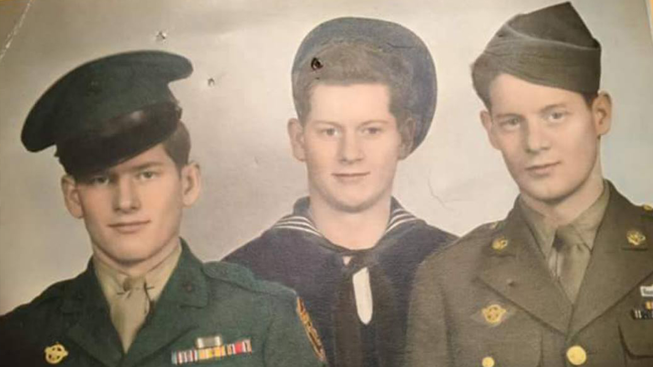 "<div class=""meta image-caption""><div class=""origin-logo origin-image none""><span>none</span></div><span class=""caption-text"">""My dad, Uncle Jack, Uncle Everette.Three of the strongest men I've ever known."" (Credit: Jasper Schoff)</span></div>"