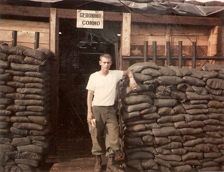 "<div class=""meta image-caption""><div class=""origin-logo origin-image none""><span>none</span></div><span class=""caption-text"">""My father Pat Amos in Vietnam. He served the country honorably for 24 years."" (Credit: Mike Amos)</span></div>"