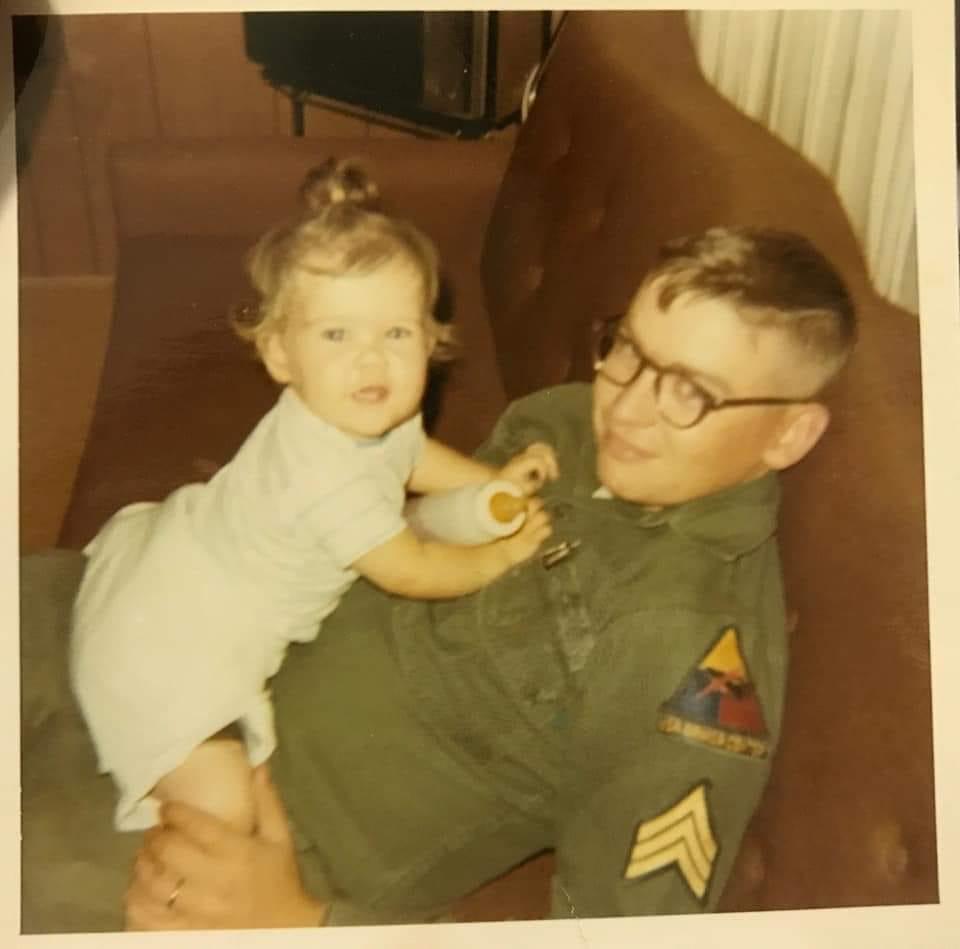 """<div class=""""meta image-caption""""><div class=""""origin-logo origin-image none""""><span>none</span></div><span class=""""caption-text"""">Angela Hoag's father was an Army Sergeant after Vietnam (Angela Hoag)</span></div>"""