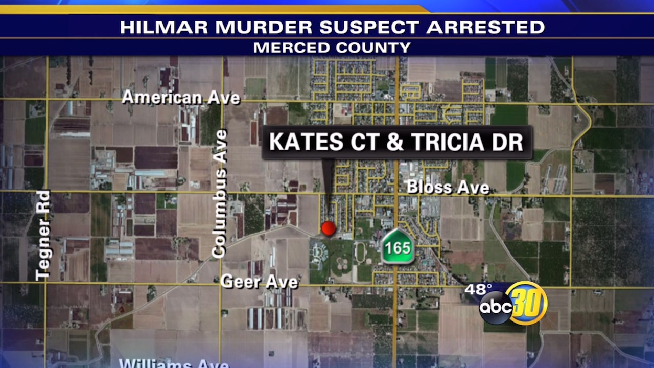 Suspect arrested in Hilmar murder