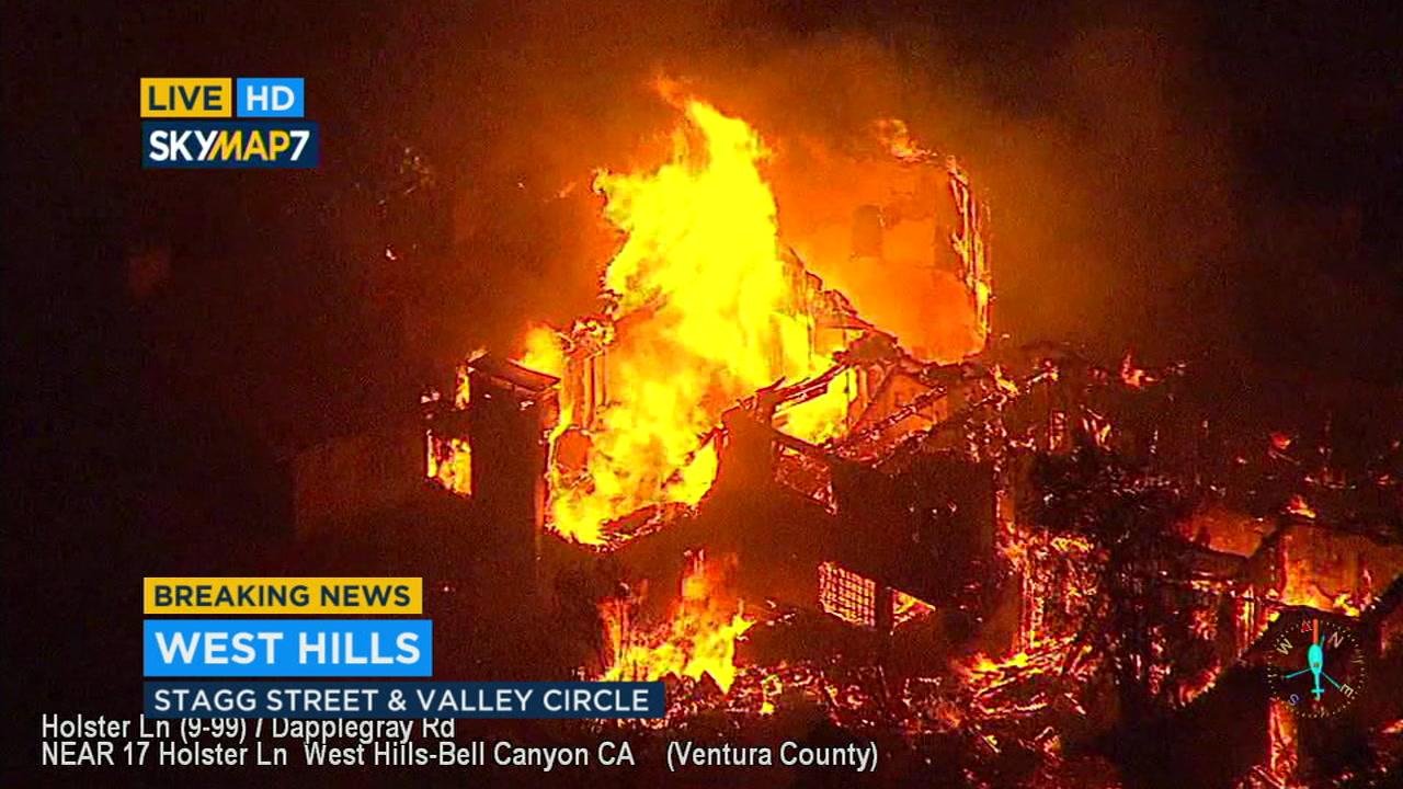 westlake village fire news
