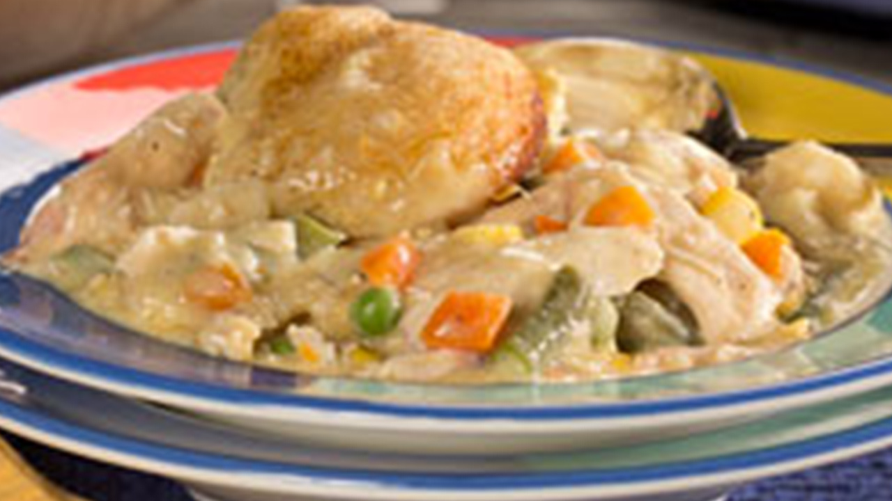 Shortcut Chicken 'n' Dumplings