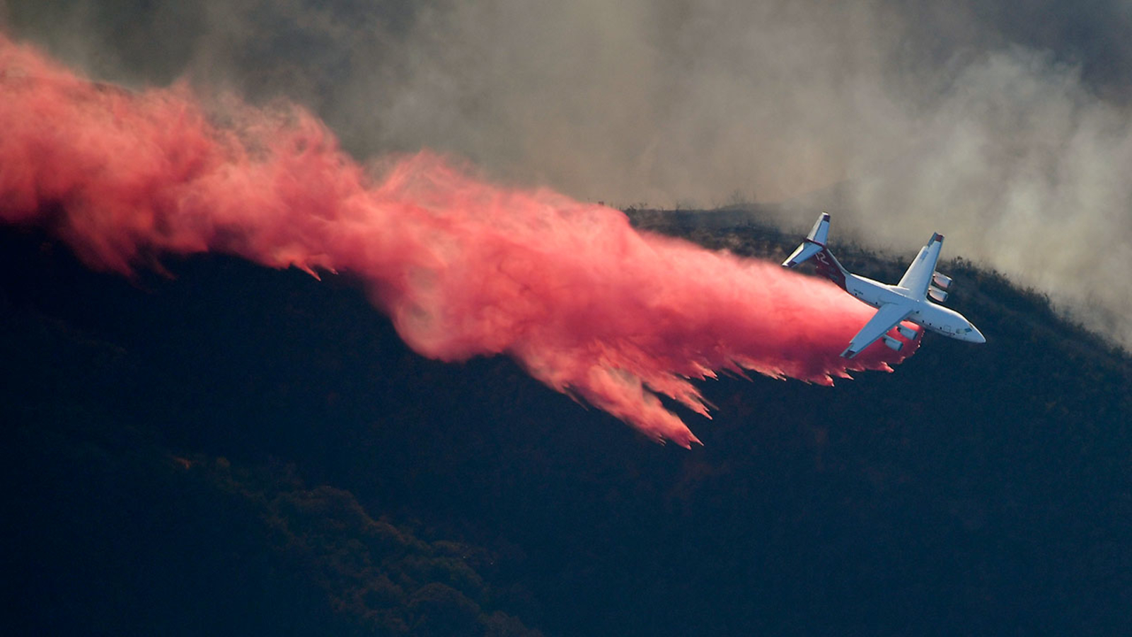 These aircraft are on the front line of the fight against California  wildfires