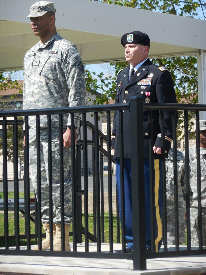 "<div class=""meta image-caption""><div class=""origin-logo origin-image none""><span>none</span></div><span class=""caption-text"">My husband , Ret LTC Tim Quinlan (on the right) Served 31yrs Army Reserve CA. Currently works at FT. Bragg. (Ann Curatola Quinlan)</span></div>"