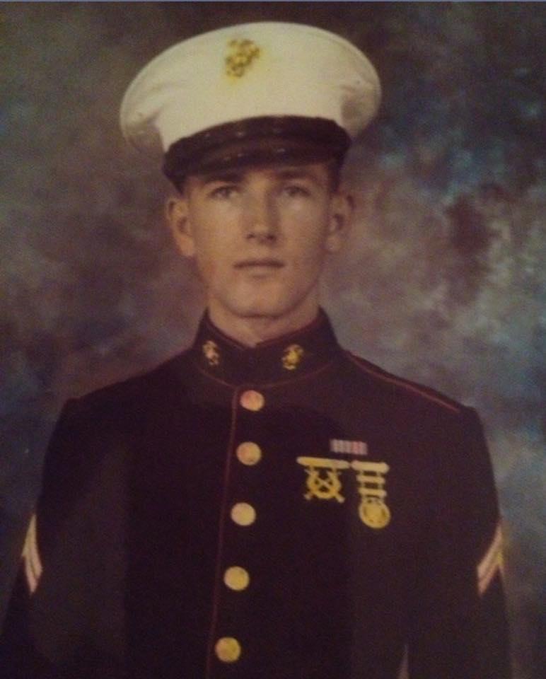"""<div class=""""meta image-caption""""><div class=""""origin-logo origin-image none""""><span>none</span></div><span class=""""caption-text"""">Wilfong McLeod Frazier Jr. of Lenoir, NC. He served in WWII and The Korean War. (Sallie Frazier Novak)</span></div>"""