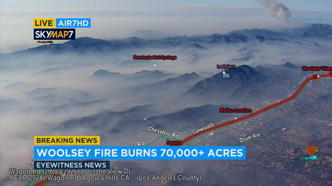 Video Authorities Give 9 Am Update On Woolsey Fire Abc7 Com