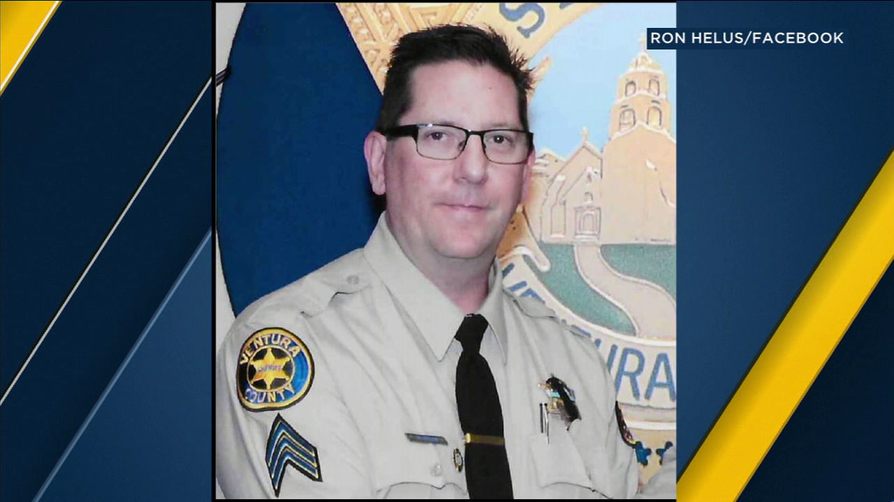 Ventura County sheriff's Sgt. Ron Helus is shown in an undated photo.