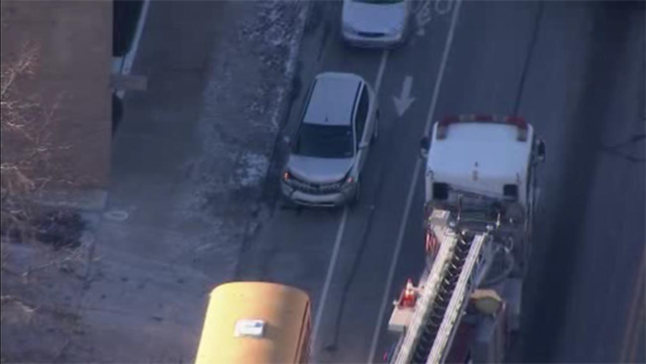 School bus crash in Northeast Philadelphia