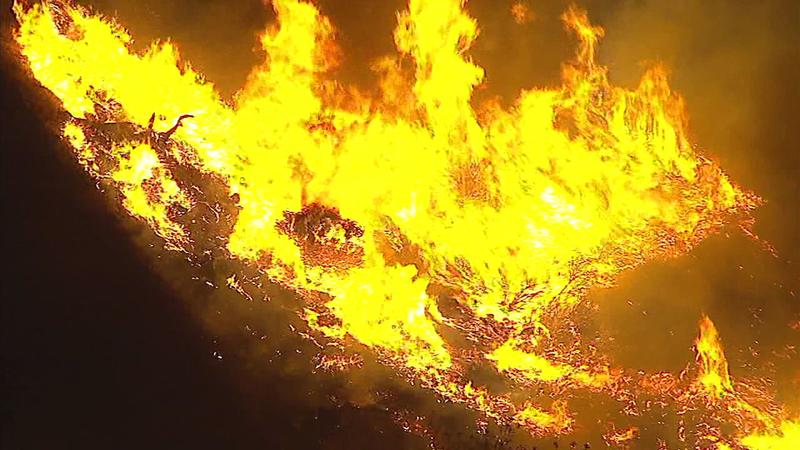 fires in san bernardino today