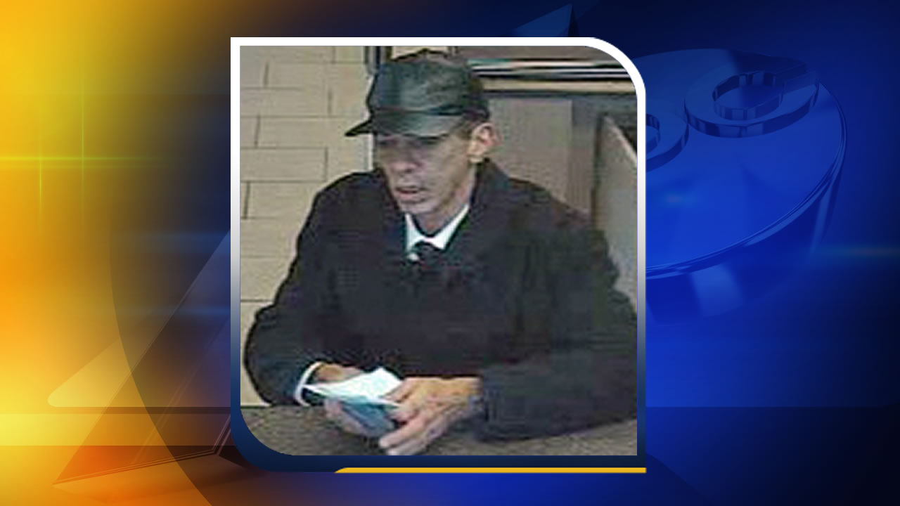 Wells Fargo robbery suspect in Raleigh