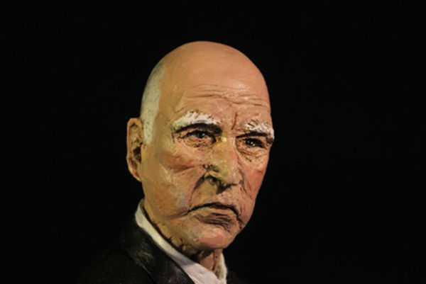 """<div class=""""meta image-caption""""><div class=""""origin-logo origin-image """"><span></span></div><span class=""""caption-text"""">A detailed look at a sculpture depicting California Gov. Jerry Brown and his dog Sutter riding in a high-speed rail cart. (Laura Harling)</span></div>"""