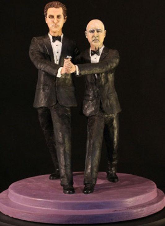 "<div class=""meta image-caption""><div class=""origin-logo origin-image ""><span></span></div><span class=""caption-text"">A sculpture depicts California Gov. Jerry Brown dancing with Lt. Gov. Gavin Newsom. (Laura Harling)</span></div>"