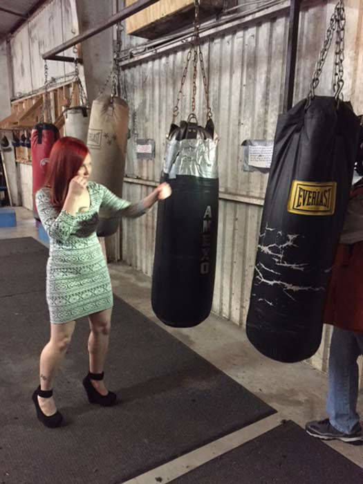 "<div class=""meta image-caption""><div class=""origin-logo origin-image ""><span></span></div><span class=""caption-text"">Jennifer ""Jiffy"" Morales shares a look inside her world inside and out of the boxing ring (KTRK Photo/ KTRK)</span></div>"