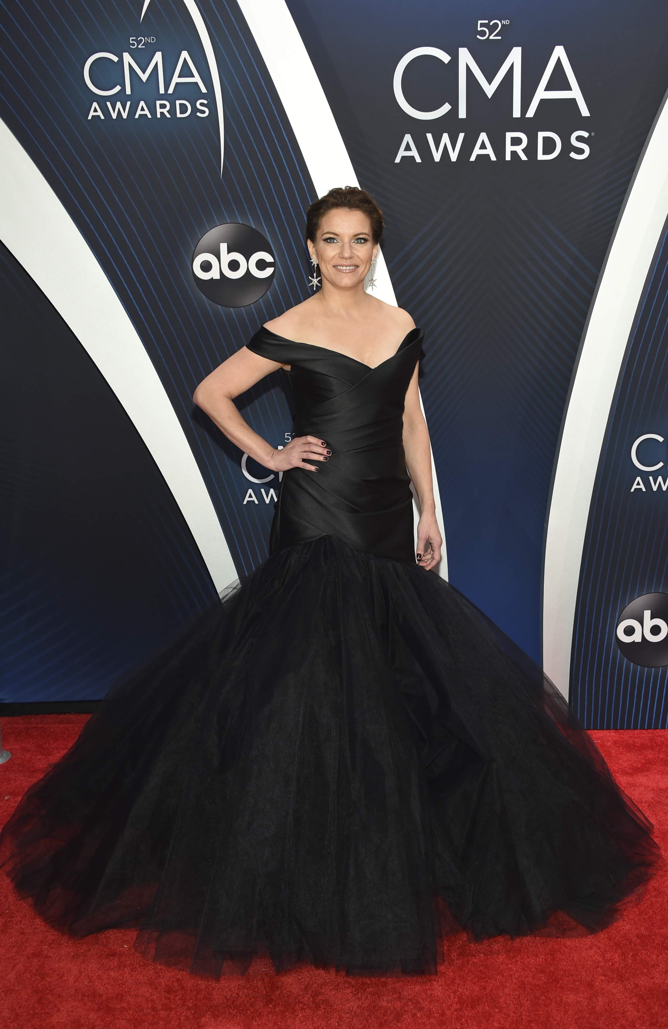 "<div class=""meta image-caption""><div class=""origin-logo origin-image ap""><span>AP</span></div><span class=""caption-text"">Martina McBride arrives at the 52nd annual CMA Awards at Bridgestone Arena on Wednesday, Nov. 14, 2018, in Nashville, Tenn. (Photo by Evan Agostini/Invision/AP) (Evan Agostini/Invision/AP)</span></div>"