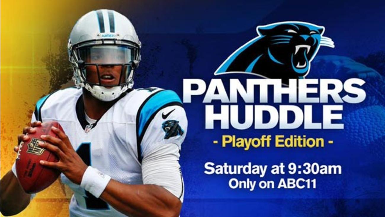 Panthers Huddle