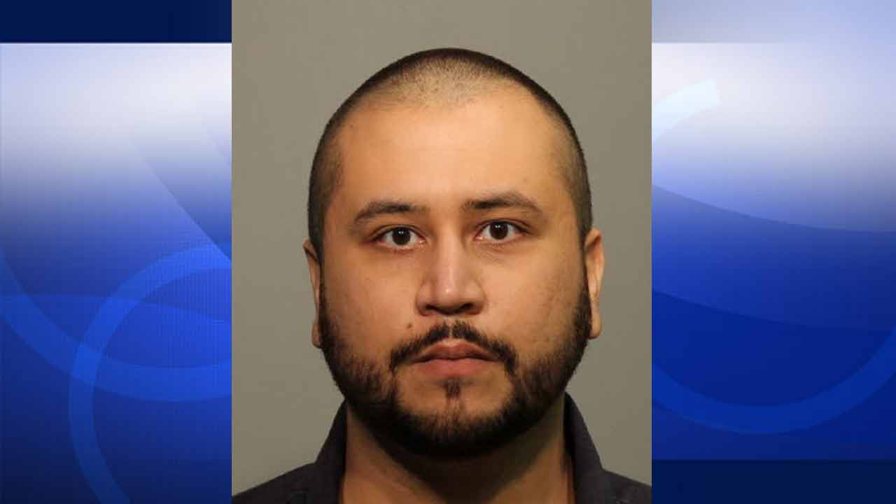 George Zimmerman appears in a booking photo after he was arrested on an aggravated assault charge in Florida on Friday, Jan. 9, 2015.