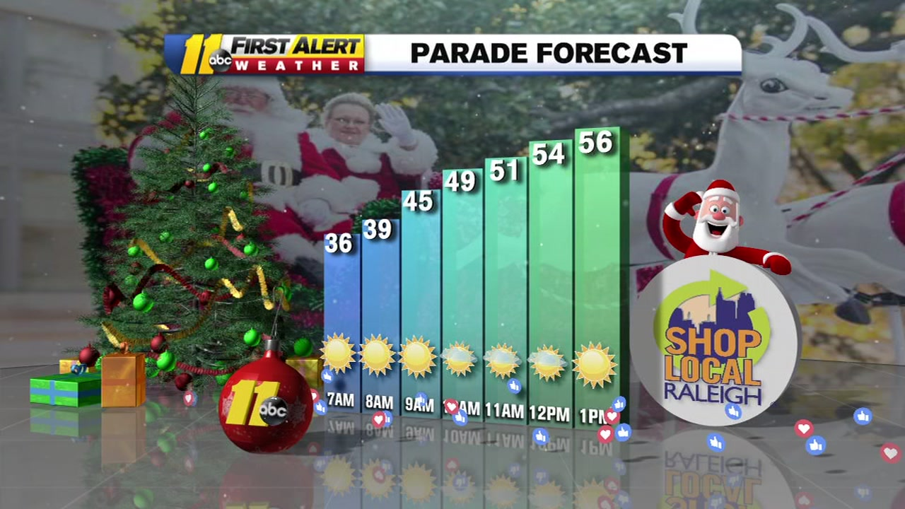 Raleigh Christmas Parade | ABC11 WTVD | abc11 com