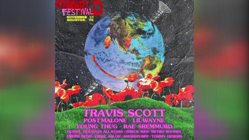 59cbf0c8b9f4 Travis Scott reveals Astroworld Festival 2018 lineup in Houston ...