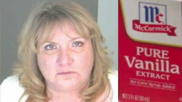 Carolyn Kesel of Seneca Falls was arrested for driving under the influence after drinking vanilla extract that contained 41 percent alcohol.