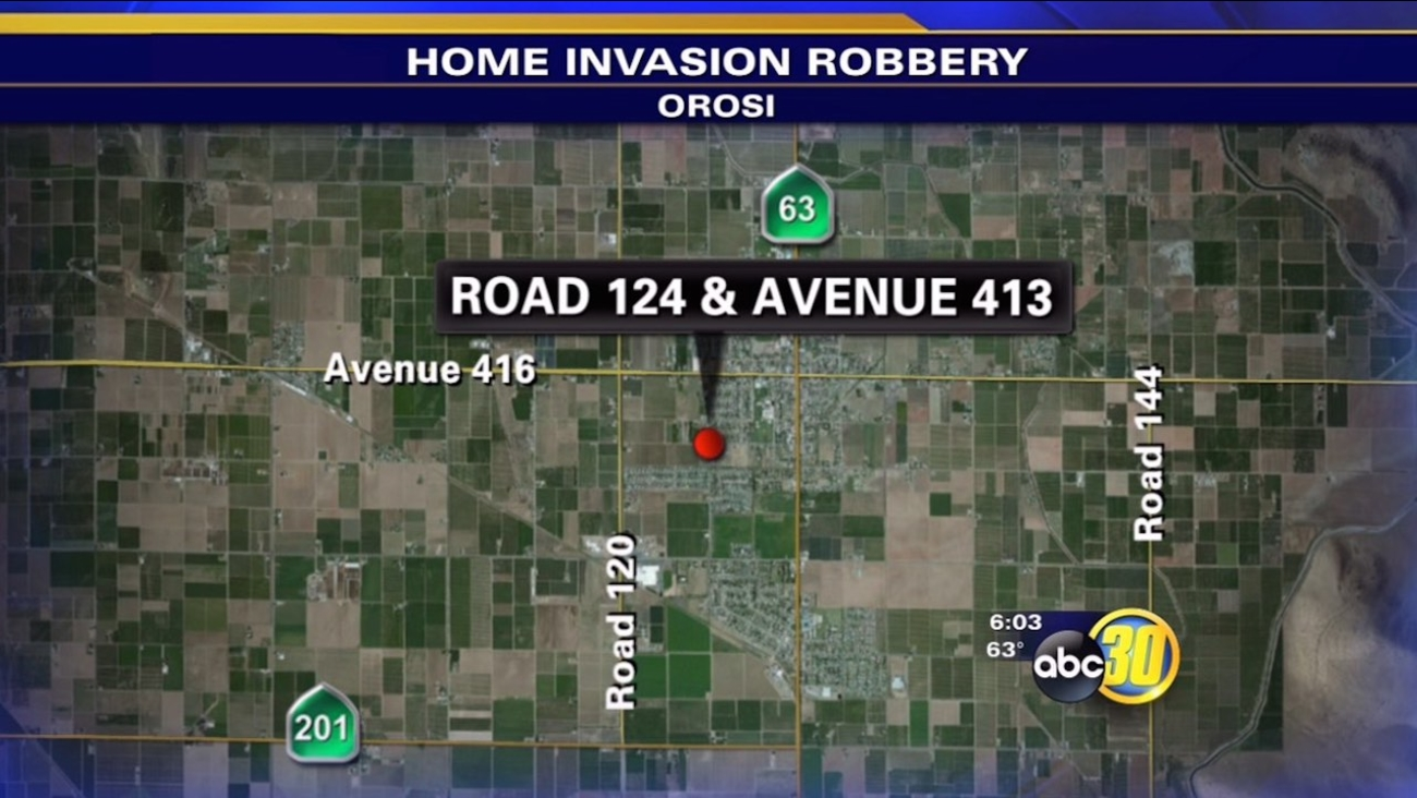 Orosi home invasion robbery
