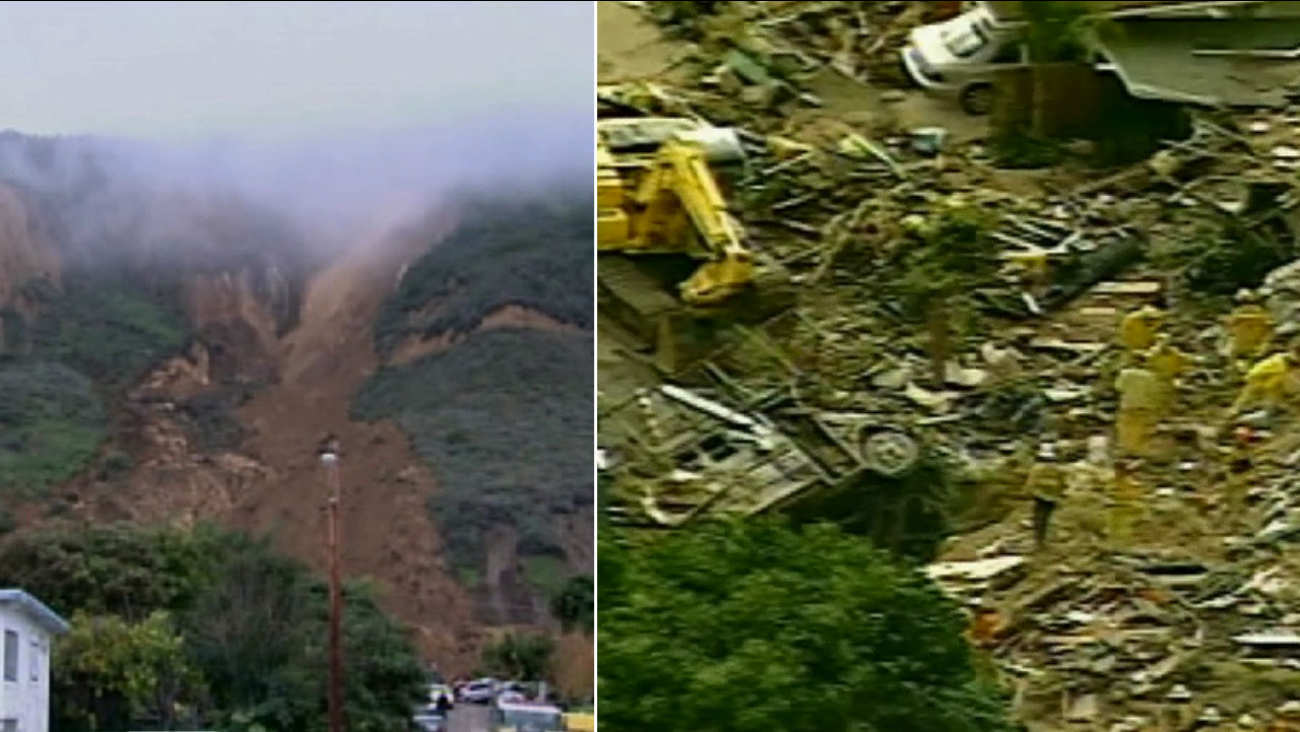 Saturday, Jan. 10, 2015 marked the 10th anniversary of the deadly landslide in La Conchita that left 10 people dead.
