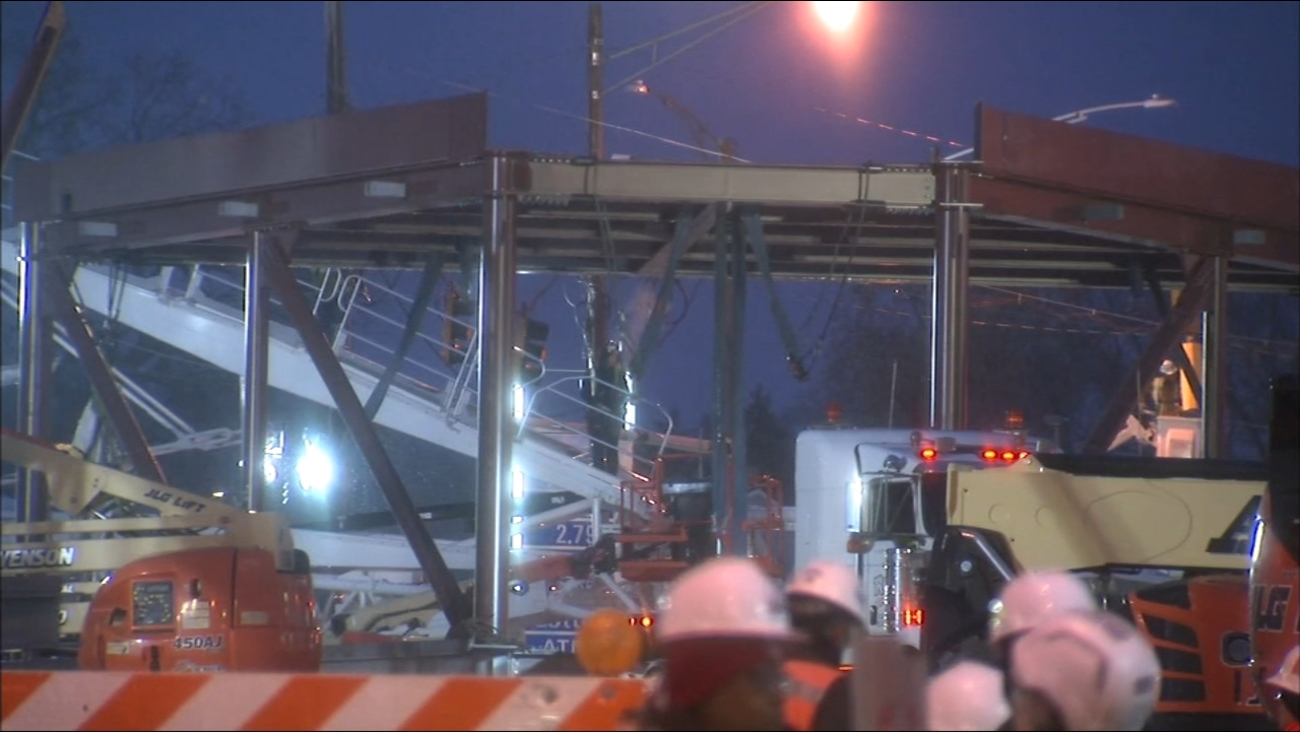 Streets Closed To Vehicles Pedestrians Around 95th Street CTA Red Line Station Sunday