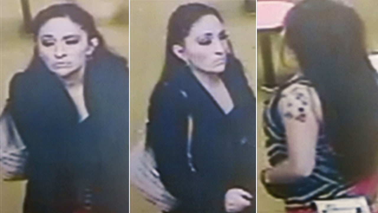 Los Angeles police are asking for the public's help to locate a woman who was possibly assaulted and abducted from a doughnut shop in Highland Park on Saturday, Dec. 20, 2014.