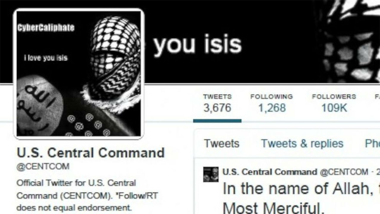 U.S. Military Social Media Accounts Apparently Hijacked By ISIS ...