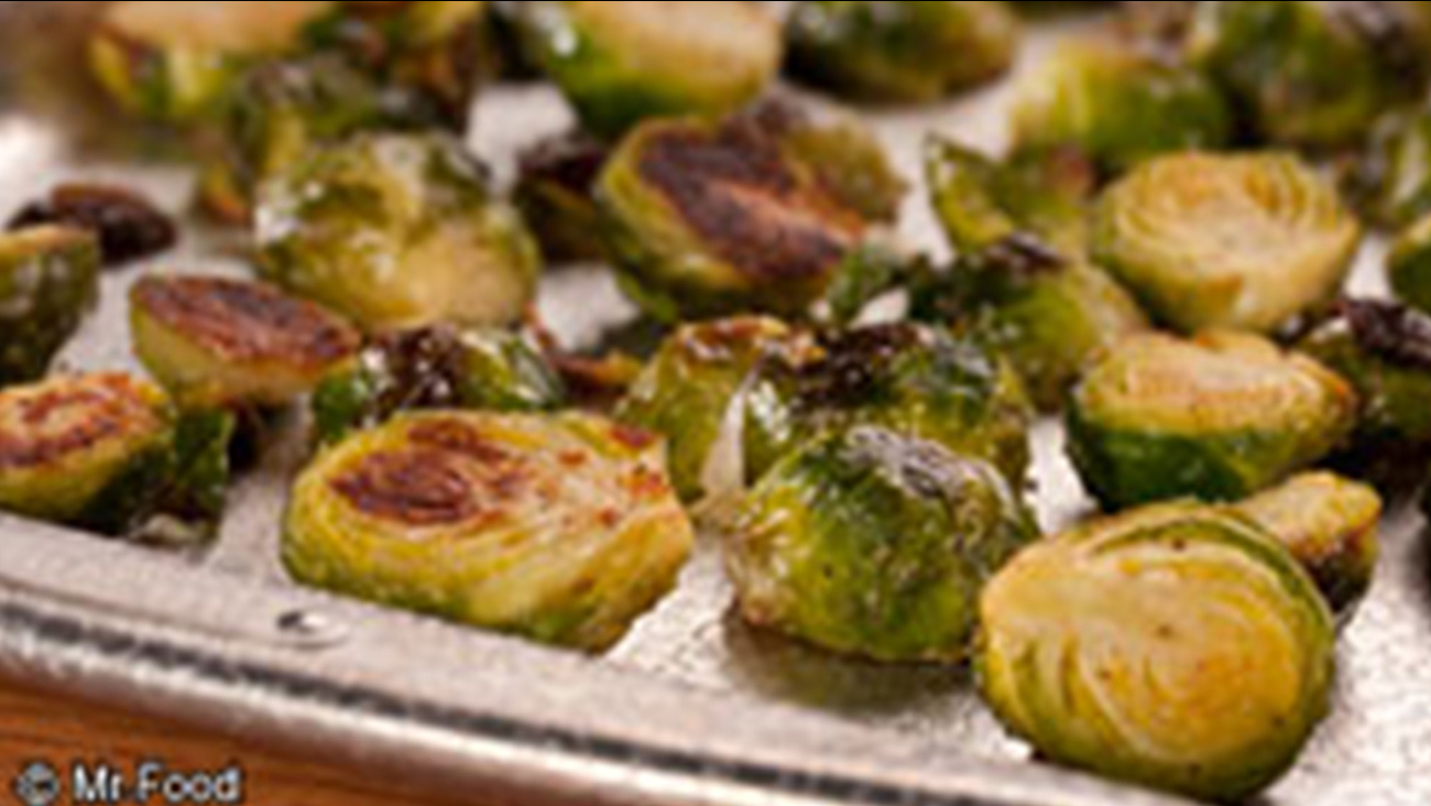 Mr. Food - Roasted Brussels Sprouts