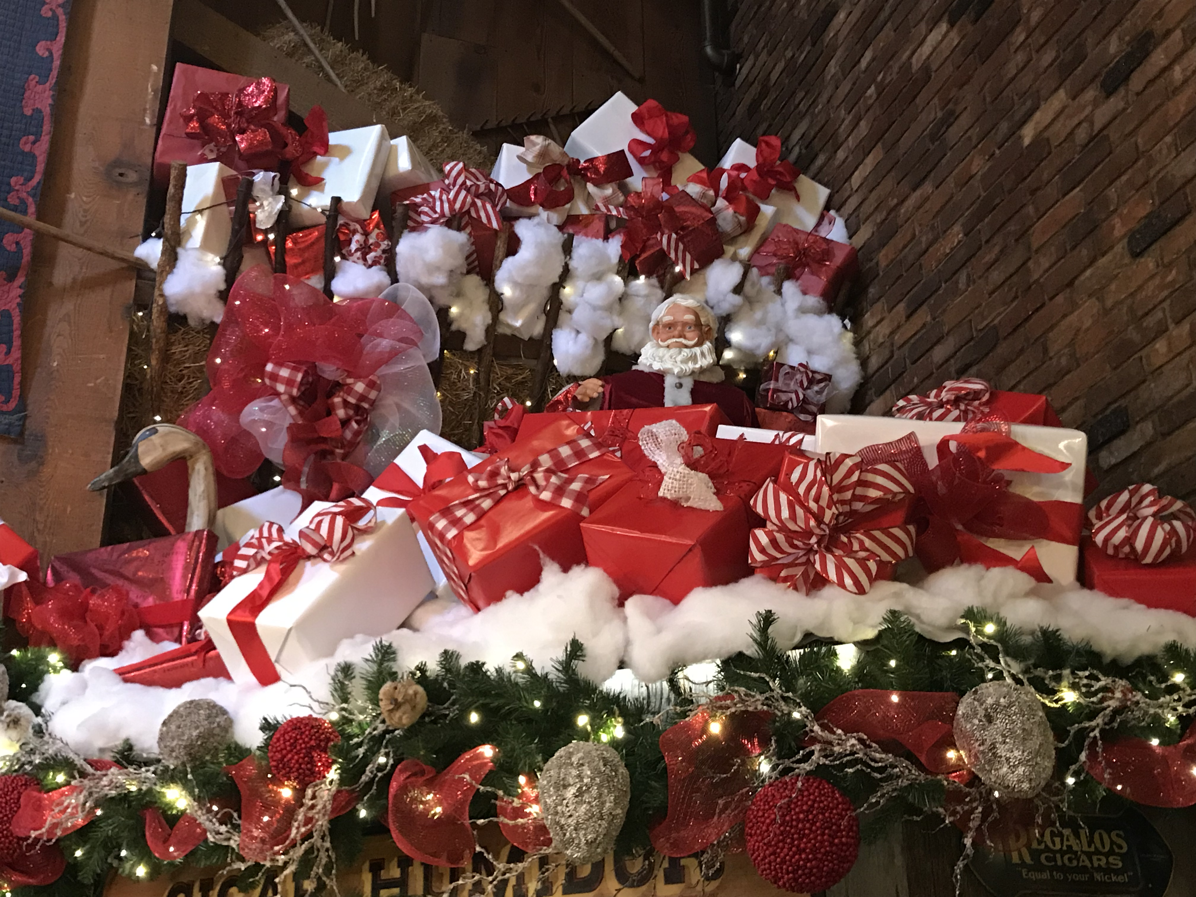 <div class='meta'><div class='origin-logo' data-origin='WTVD'></div><span class='caption-text' data-credit=''>Angus Barn is bringing in the Christmas joy</span></div>