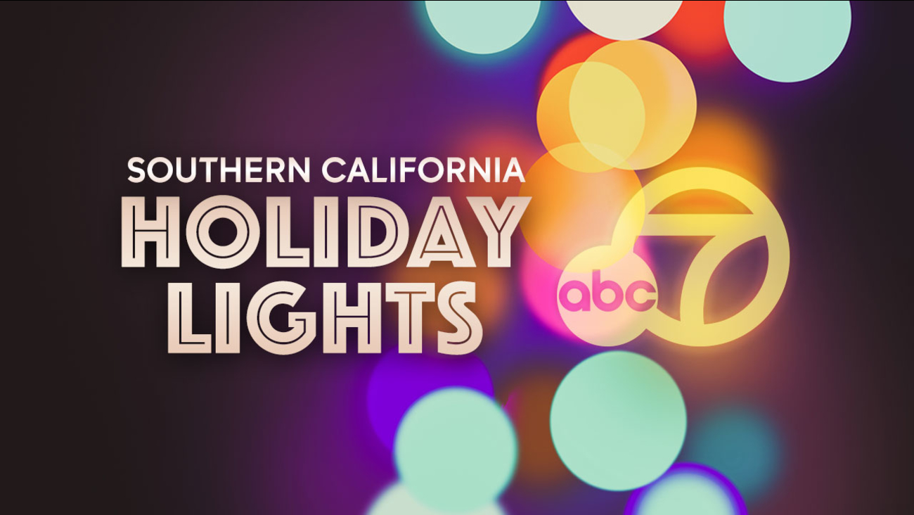 Holiday Light Displays In Southern California Abc7