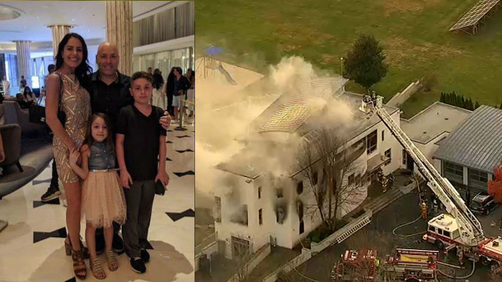 Colts Neck mansion fire: Husband, wife, kids believed killed ...