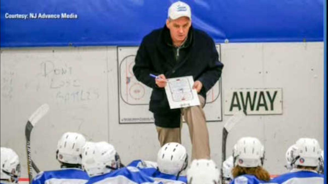 hockey coach assault arrest