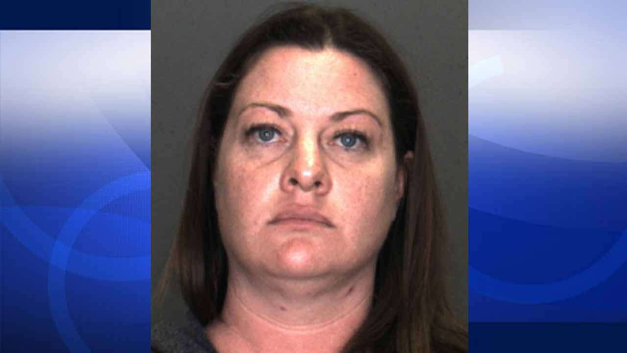 Kristen Blanton, 37, is shown in an undated file photo from the San Bernardino Sheriff's Department.