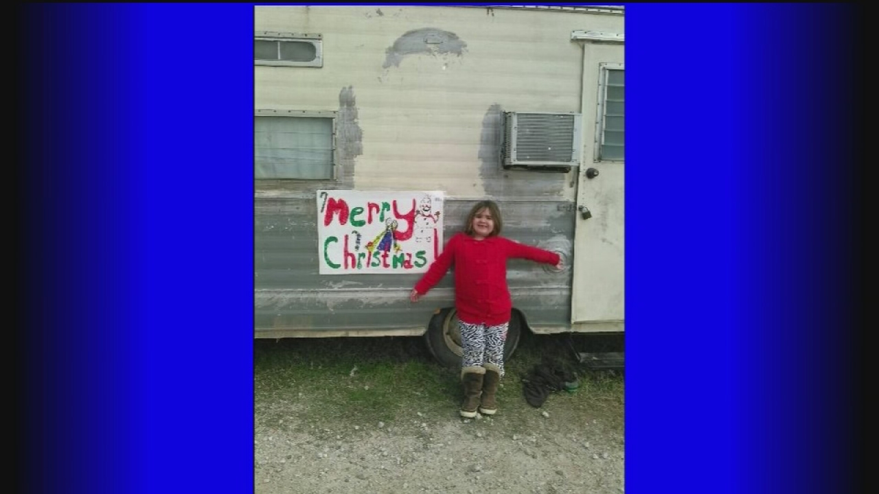 Family's RV stolen, with Christmas gifts inside