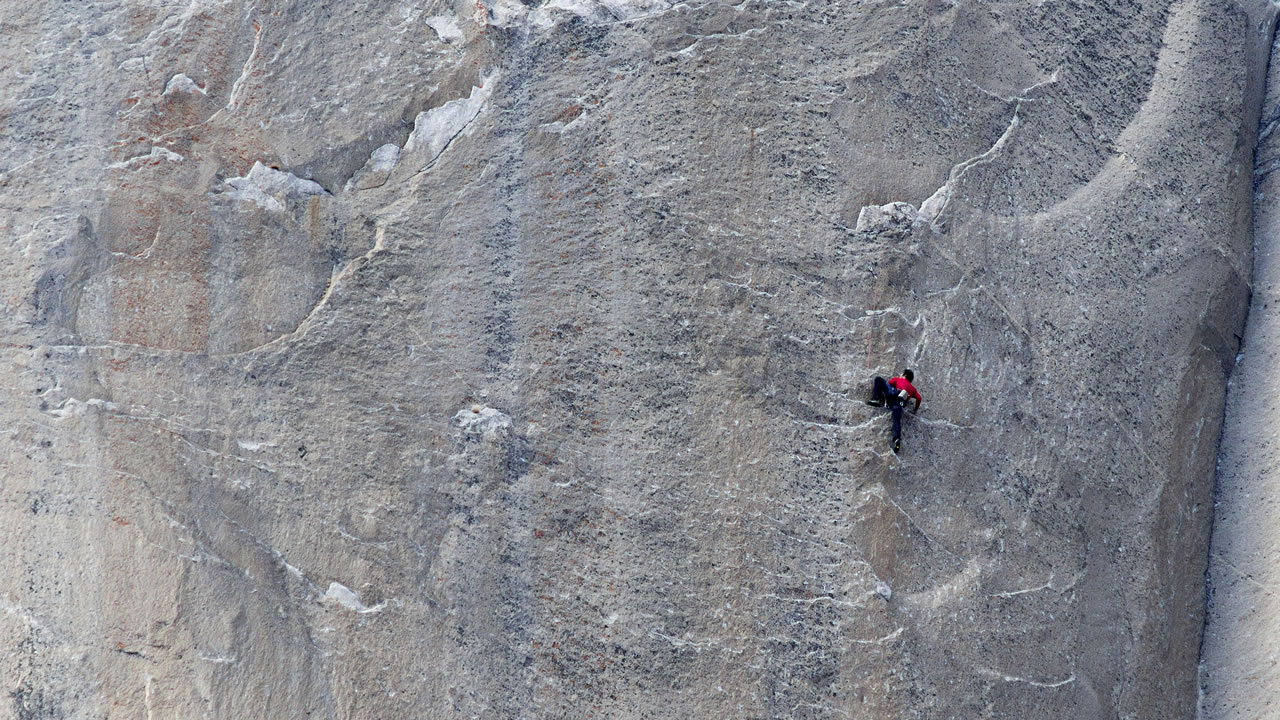 Kevin Jorgeson climbs what has been called the hardest rock climb in the world: a free climb of El Capitan