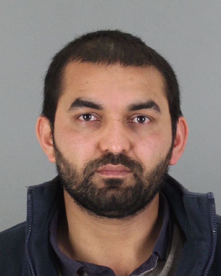 San Bruno gas station manager Shoiab Mustafa is accused of altering lottery tickets, then selling the losing scratchers to customers.