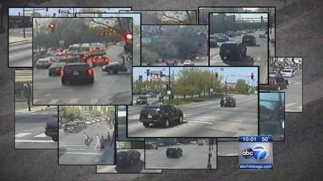 I Team Mayor Rahm Emanuel S Motorcade Caught Speeding