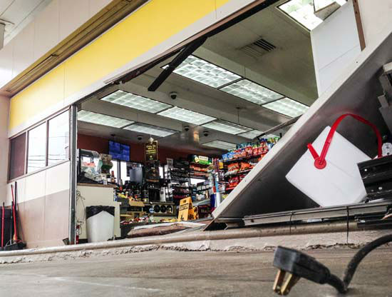 """<div class=""""meta image-caption""""><div class=""""origin-logo origin-image """"><span></span></div><span class=""""caption-text"""">Authorities have found an ATM near a truck believed to have been used in a smash-and-grab robbery in northwest Houston (KTRK Photo/ KTRK)</span></div>"""