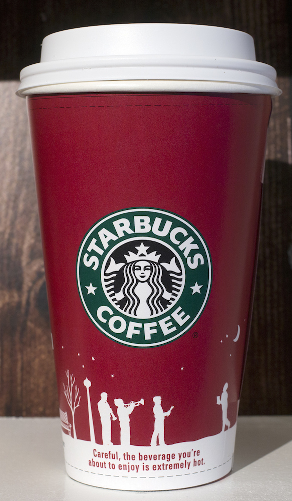 <div class='meta'><div class='origin-logo' data-origin='AP'></div><span class='caption-text' data-credit='AP Photo/Mark Lennihan'>A 2006 Starbucks holiday cup is displayed, Thursday, Nov. 9, 2017, at a Starbucks in New York. The Seattle-based company is celebrating 20 years of holiday coffee cups.</span></div>