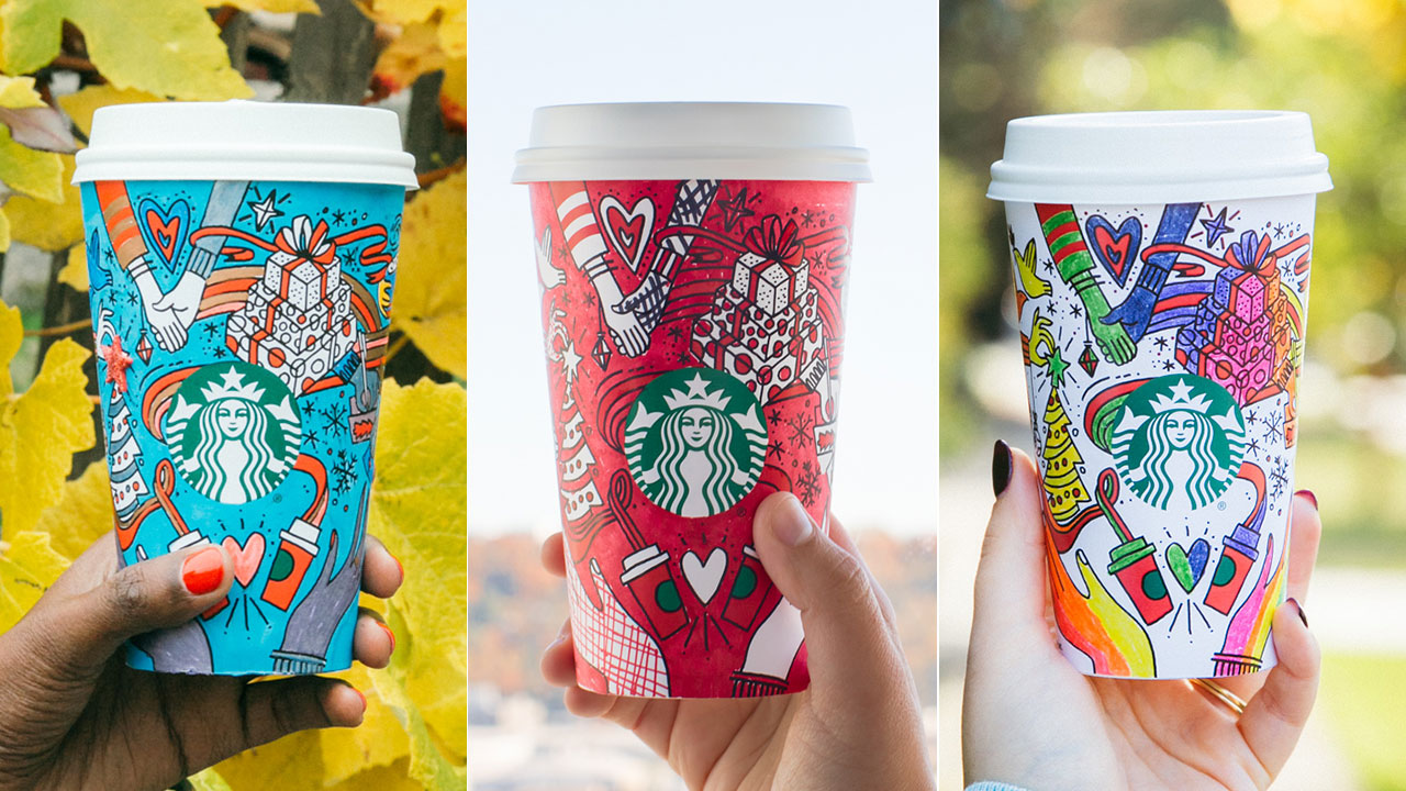 <div class='meta'><div class='origin-logo' data-origin='AP'></div><span class='caption-text' data-credit='Starbucks'>The 2017 Starbucks cup design included a &#34;color-it-in-yourself&#34; feature.</span></div>