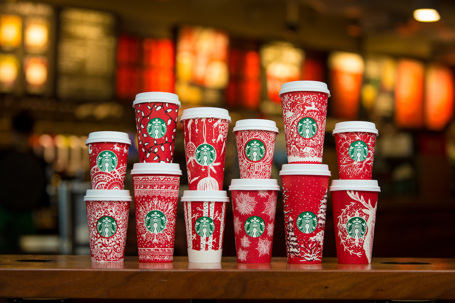 <div class='meta'><div class='origin-logo' data-origin='Creative Content'></div><span class='caption-text' data-credit='Joshua Trujillo/Starbucks'>Starbucks red holiday cups photographed on November 9, 2016.</span></div>