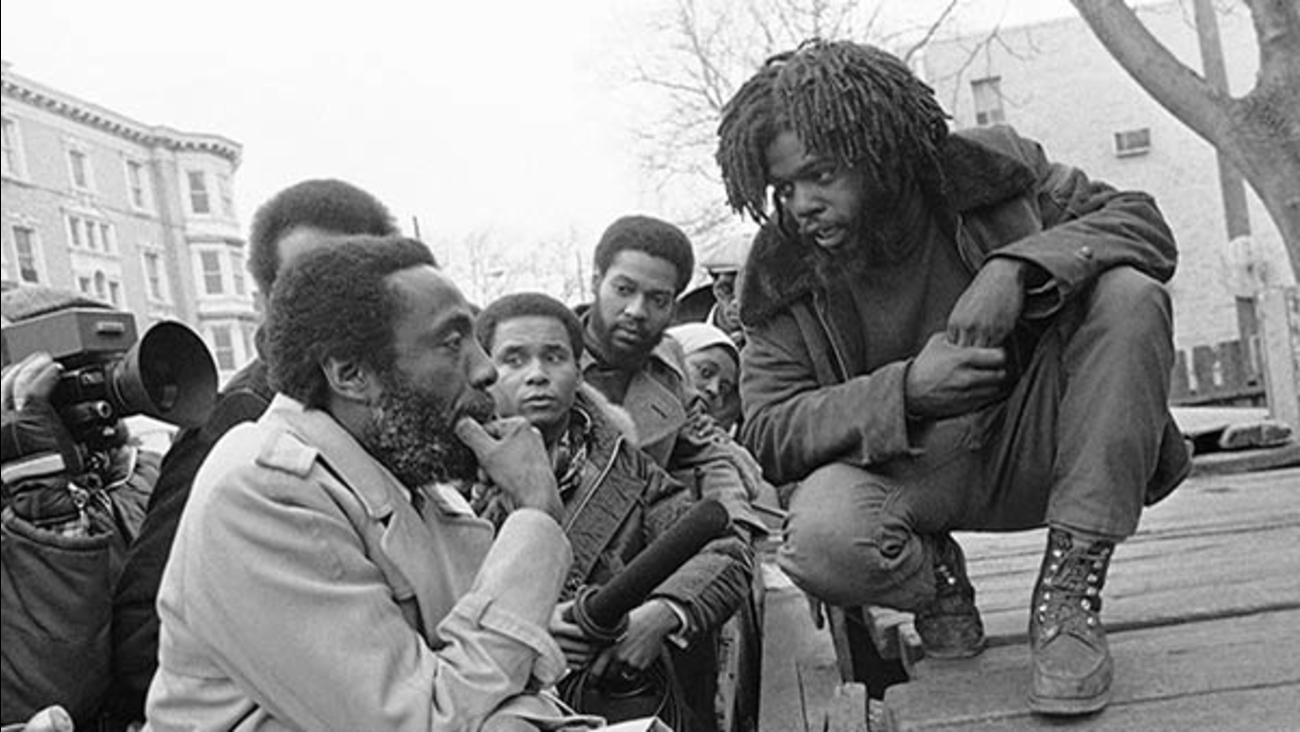 Phil Africa and Dick Gregory