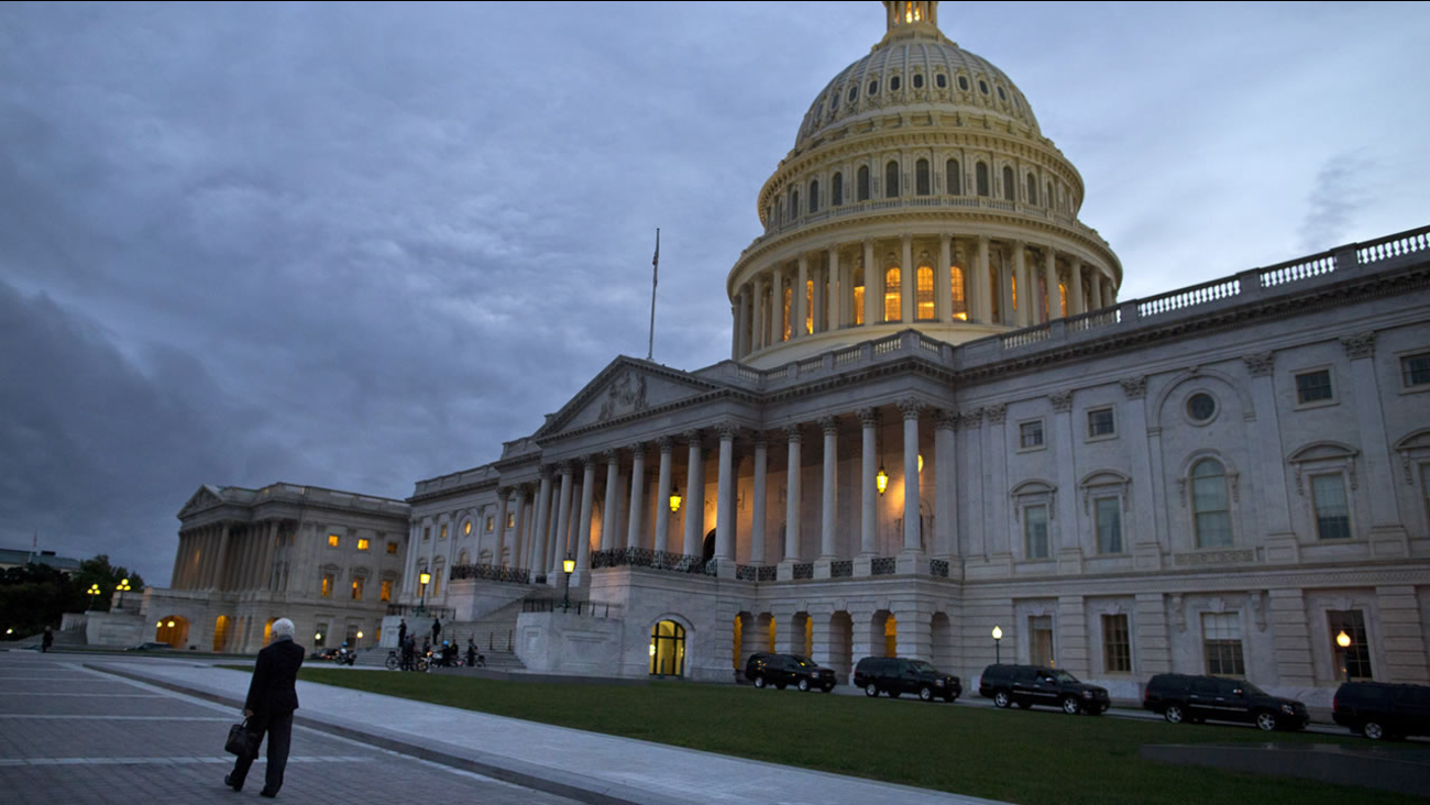 This undated file photo shows the U.S. Capitol building in Washington D.C.