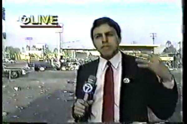 <div class='meta'><div class='origin-logo' data-origin='none'></div><span class='caption-text' data-credit='KTRK Photo'>Art Rascon back in his days reporting in Los Angeles</span></div>
