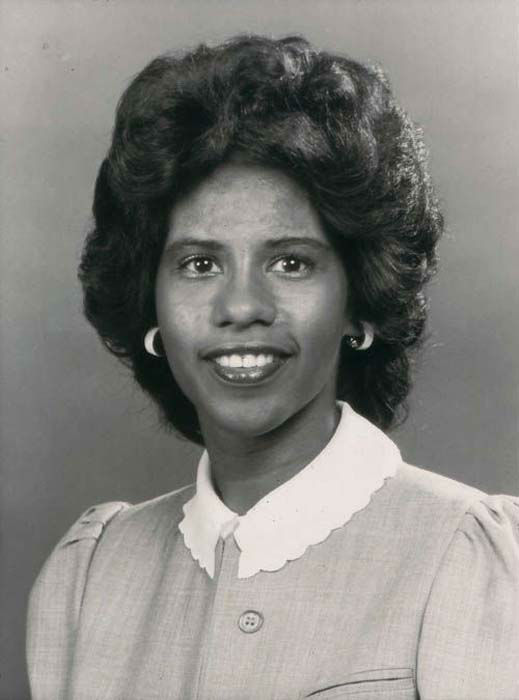 <div class='meta'><div class='origin-logo' data-origin='none'></div><span class='caption-text' data-credit='KTRK Photo'>Melanie Lawson during the 1980s while working at ABC-13</span></div>